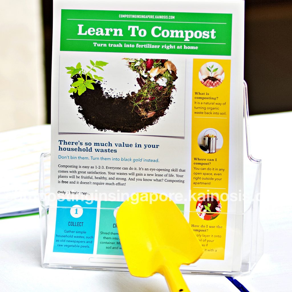 Our free colorful handouts on DIY composting!